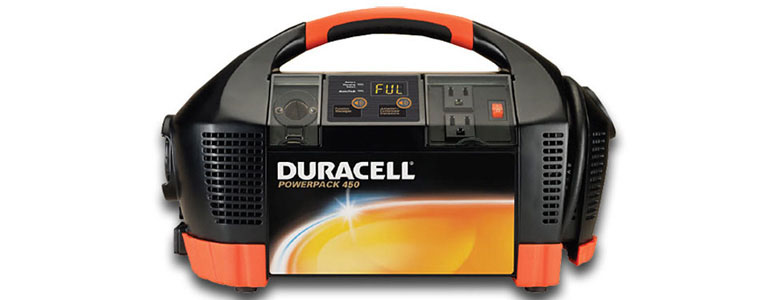 Duracell Powerpack 450 - Talking Power Supply, Jump Starter & Air Compressor