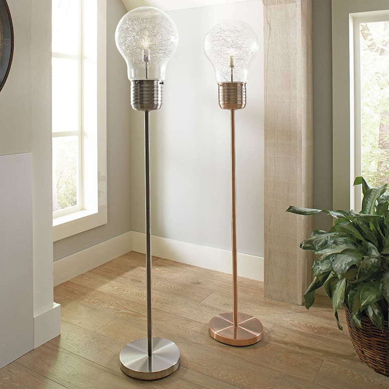 Edison Light Bulb Floor Lamp The Green Head
