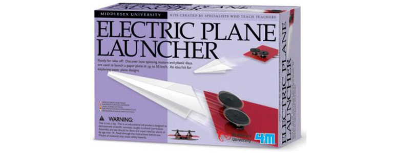 Electric Paper Airplane Launcher
