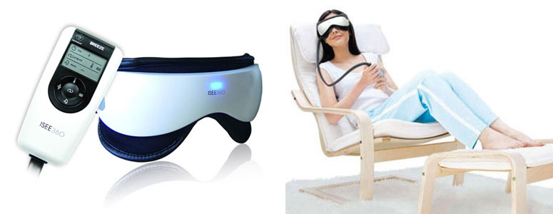 iSee360 - Electronic Eye and Temple Massager