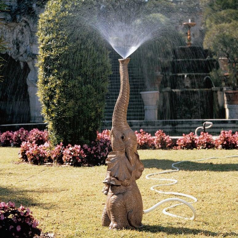 Elephant Lawn Sprinkler The Green Head