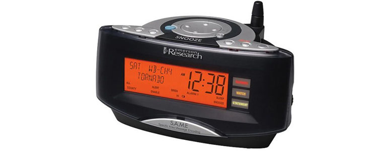 SmartSet Weather / Alarm Clock Radio