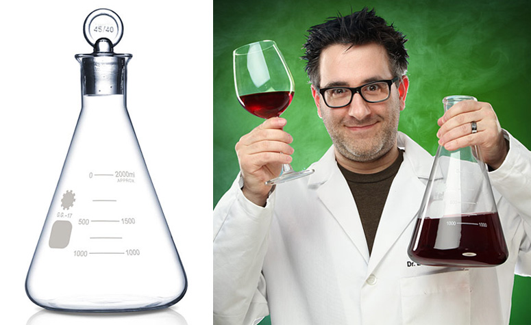 Erlenmeyer Flask Decanter