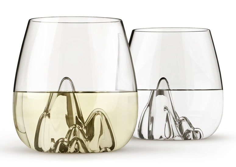 Escape - Mountainous Glass Tumblers