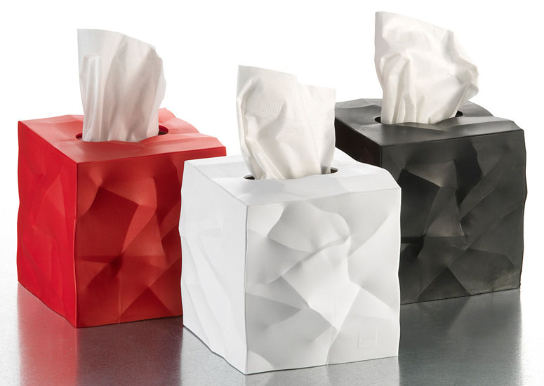 essey wipy crumpled tissue box cover
