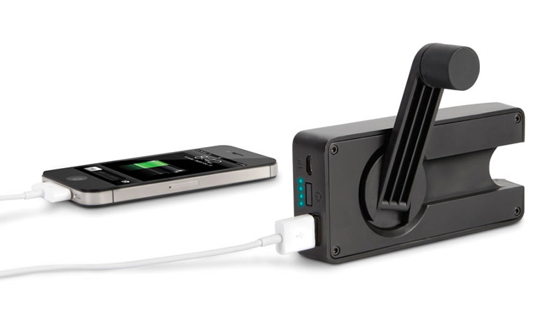 Eton BoostTurbine 2000 - Hand Crank / Rechargeable Emergency Cell Phone Charger