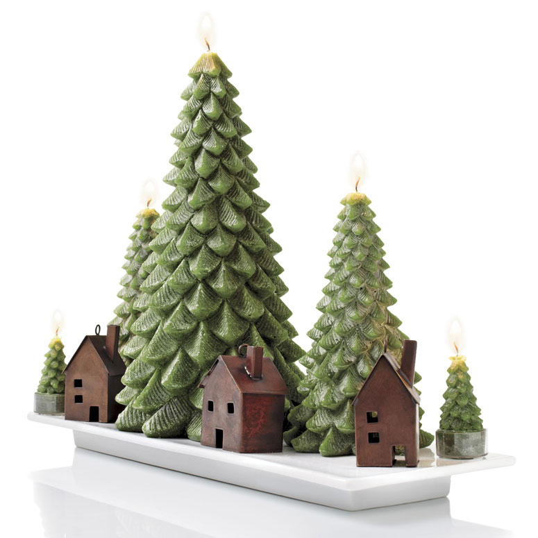 Evergreen Tree Candles