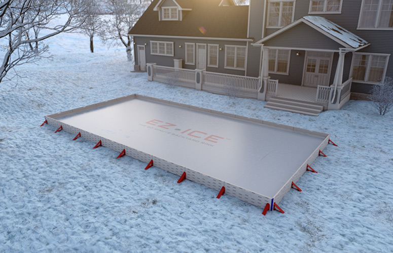 Exceptionnel EZ ICE   60 Minute Backyard Ice Rink