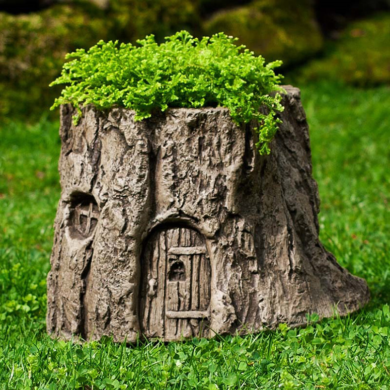 Fairy Garden Tree Stump Planter The Green Head