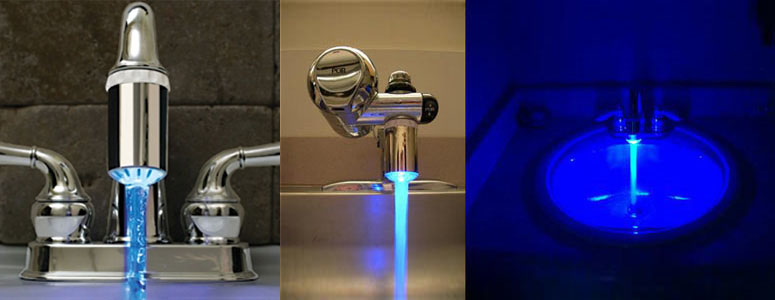 Faucet Light - Add Bright Blue Excitement To Your Water!
