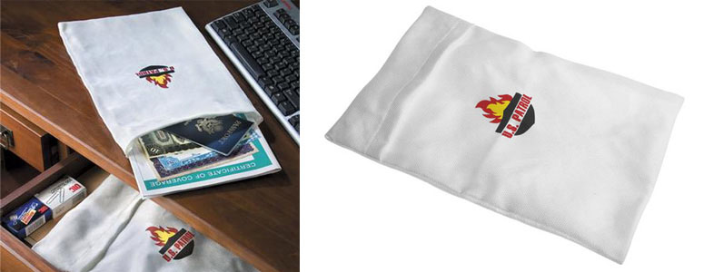 Fire-Resistant Document Bags