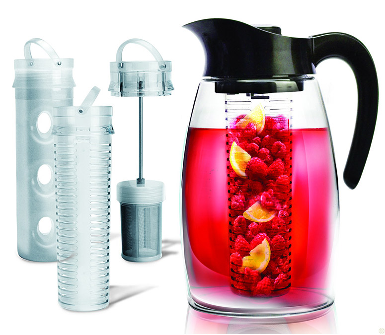 Flavor-It Infusion Pitcher - 3-in-1 Beverage System