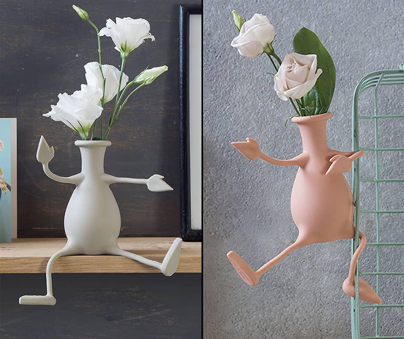 Florino Flexible Friendly Flower Vase The Green Head