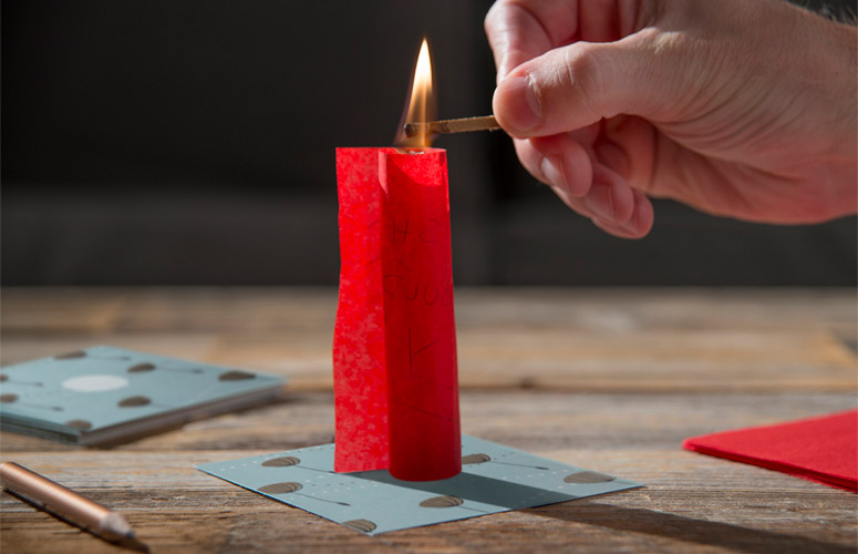 Flying Wish Paper - Write A Wish, Light It On Fire, and Watch It Fly