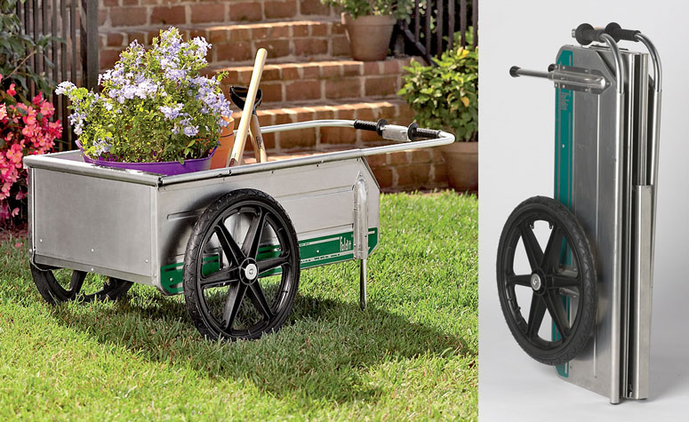 Fold-It Utility Cart - Carries Big Loads and Folds for Compact Storage