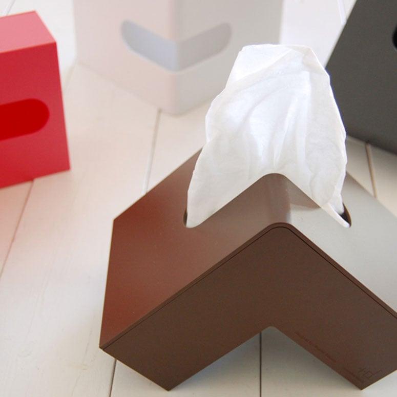 Folio L-Shaped Tissue Box - The Green Head