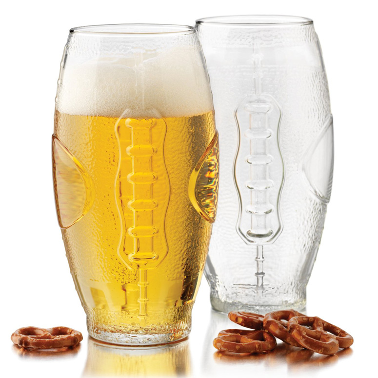 Football Tumbler Beer Glasses