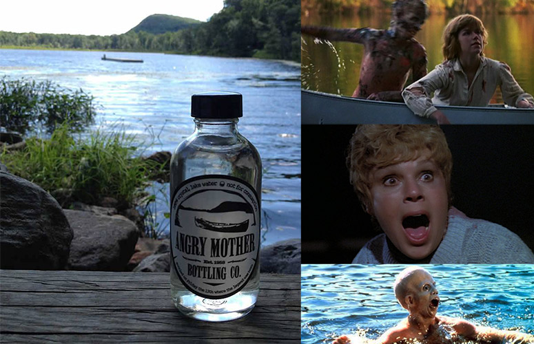 Friday The 13th Souvenir Bottle Of Water From Camp Crystal Lake