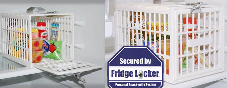 fridge locker - personal food security system