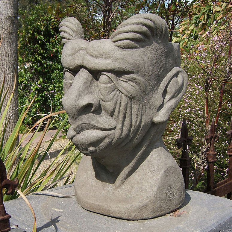 Gargoyle Head Planter The Green Head