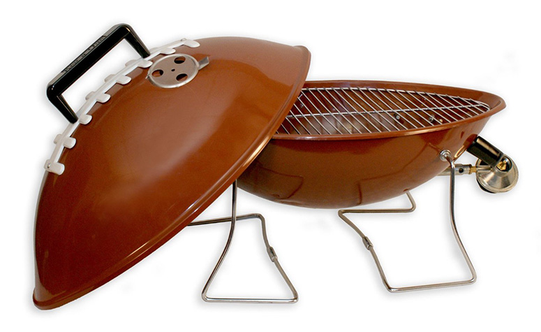 Gas Football Grill