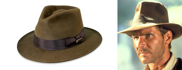 2cd00eb881f0d Genuine Indiana Jones Fedora Hat
