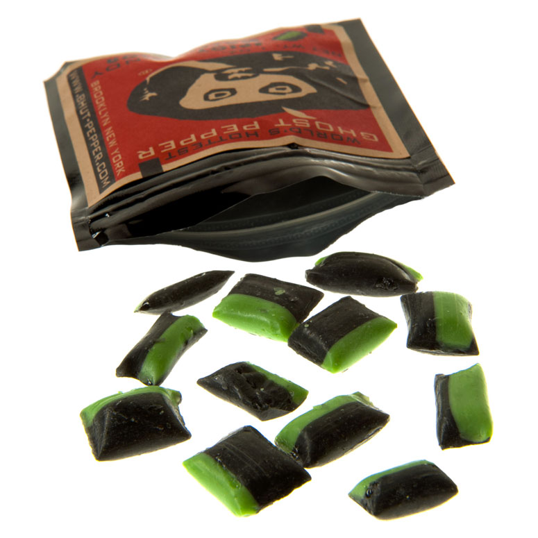 Ghost Pepper Candy: Spicy Watermelon Hard Candy