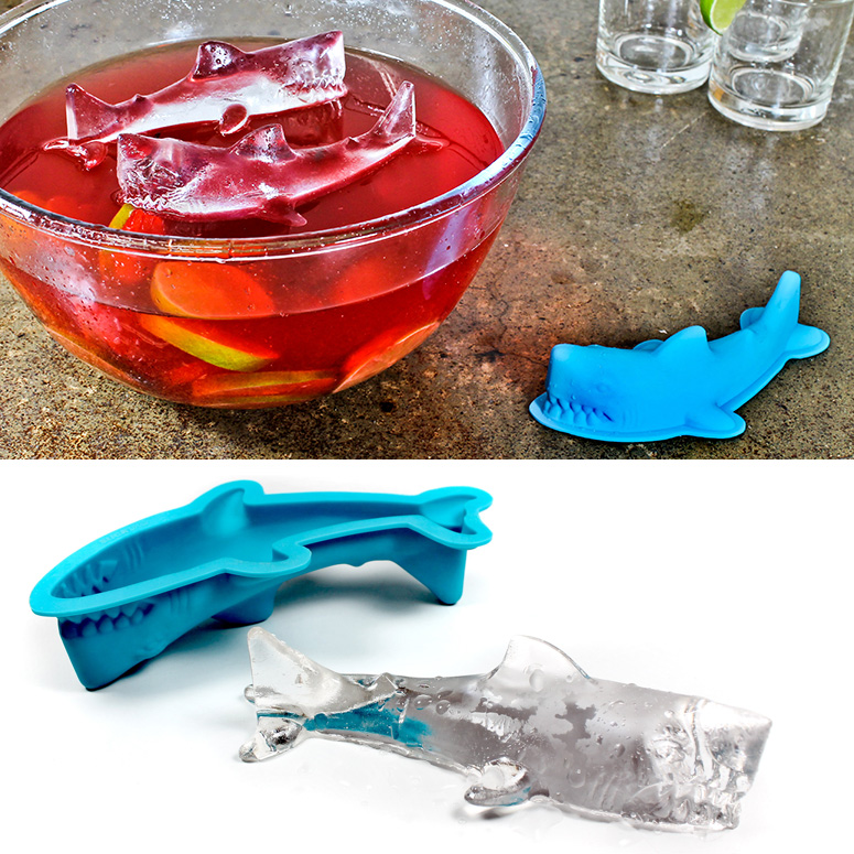 Giant 3D Shark Ice Mold