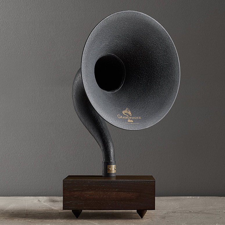 Giant Bluetooth Gramophone Speaker The Green Head