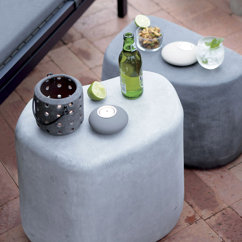 Giant Boulder Patio Tables / Stools / Landscape Accents - Giant Boulder Patio Tables / Stools / Landscape Accents - The Green Head