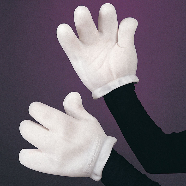 Giant Cartoon Gloves