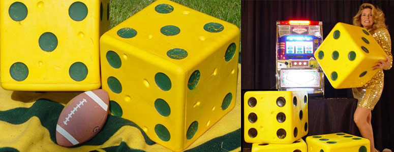 Giant Bouncing Foam Dice Make Board Games Better