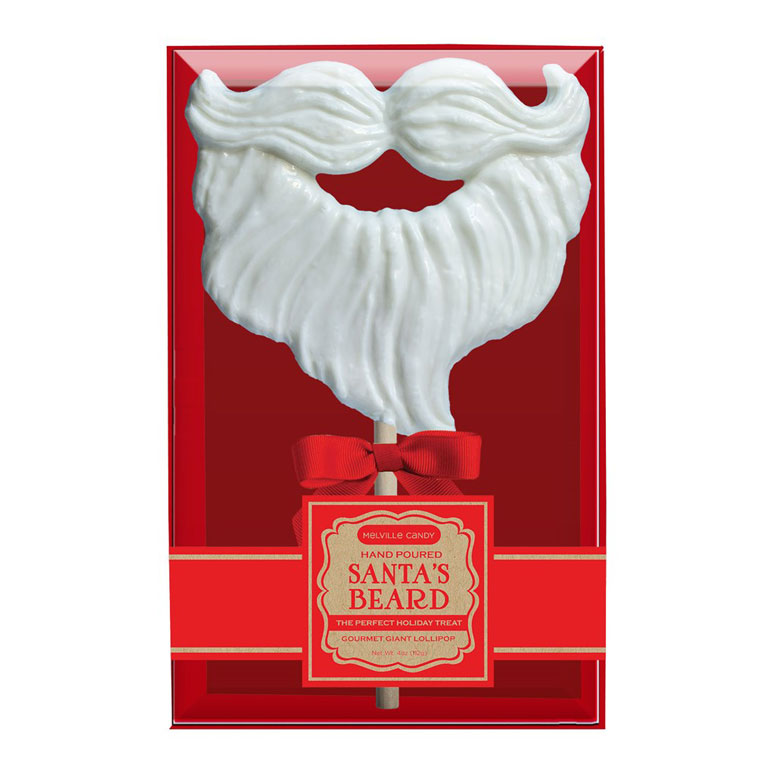 Giant Santa Beard Lollipop