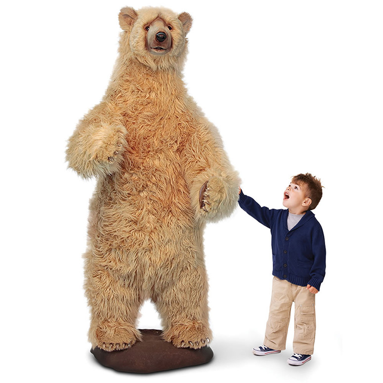 Gigantic Animatronic Singing and Talking Bear