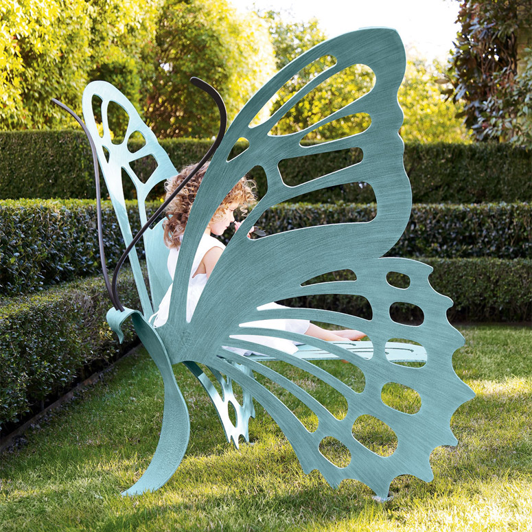 Gigantic Butterfly Bench / Sculpture