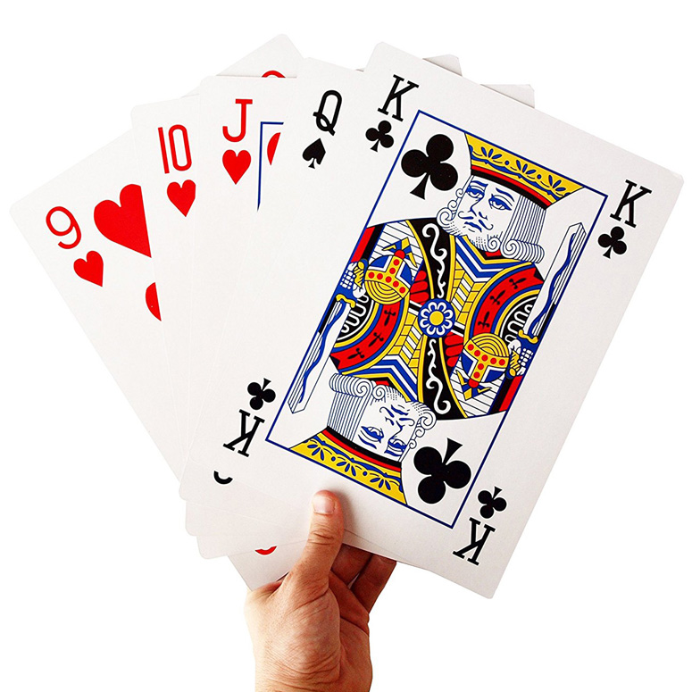 Gigantic Deck Of Playing Cards The Green Head