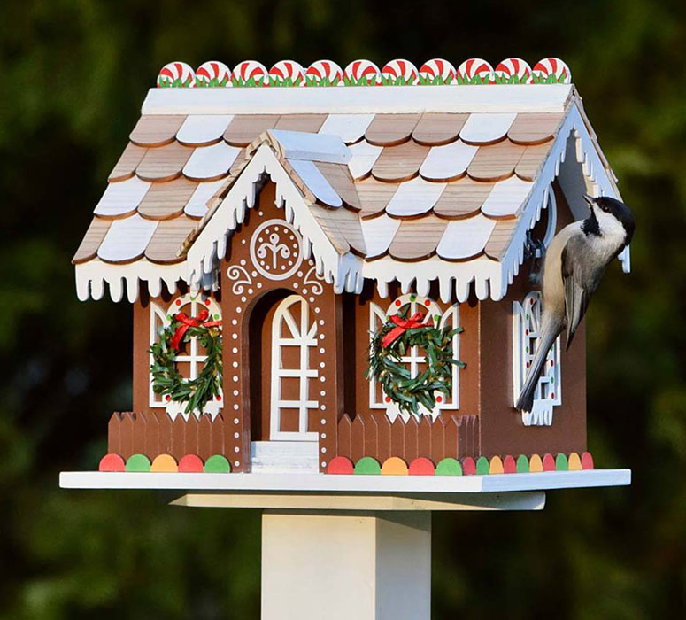 Gingerbread Cottage Birdhouse
