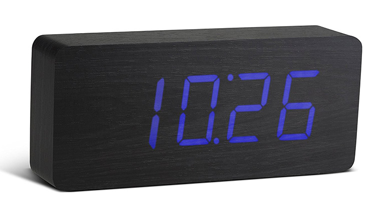 Gingko Slab Click Clock