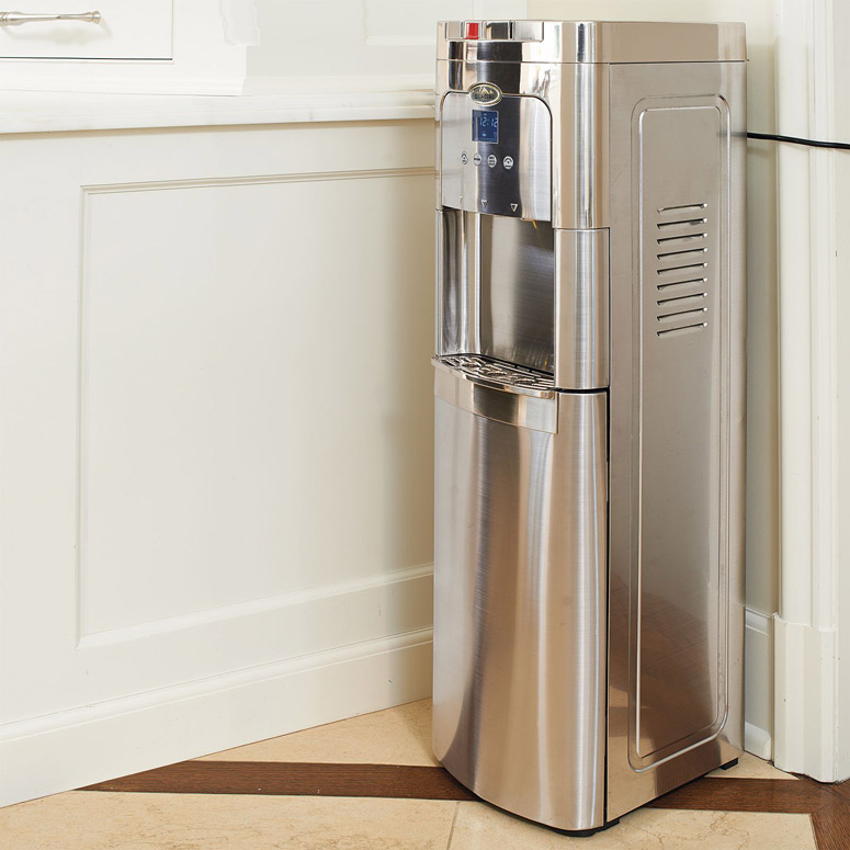 Glacial Maximum - Stainless Steel, Self-Cleaning, Bottom-Load Watercooler