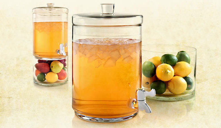 Glass Iced Tea Dispenser