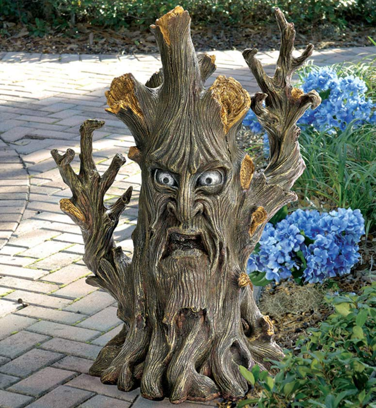 Gnarled And Twisted Ent Tree Statue The Green Head