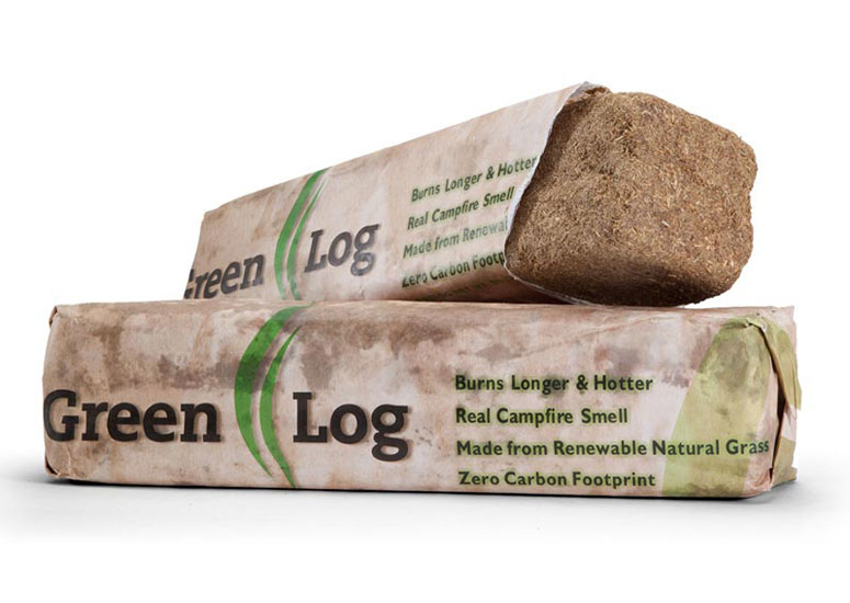 Green Logs - Natural and Eco-Friendly Fire Starting Logs