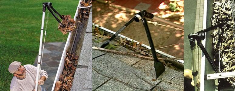 Gutter Sense Rain Gutter Cleaning Tool