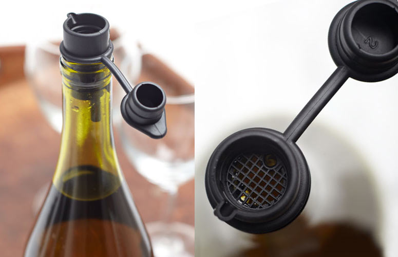 Haley's Corker - Wine Aerator, Pourer, Filter, Re-Corker and Stopper