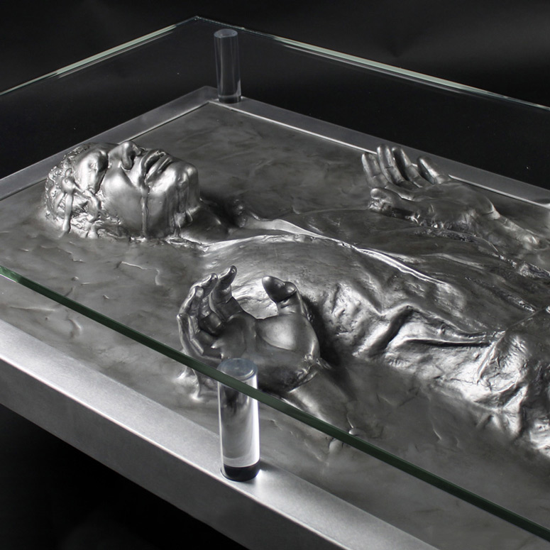 Carbonite Han Solo Coffee Table Home Design Inspirations