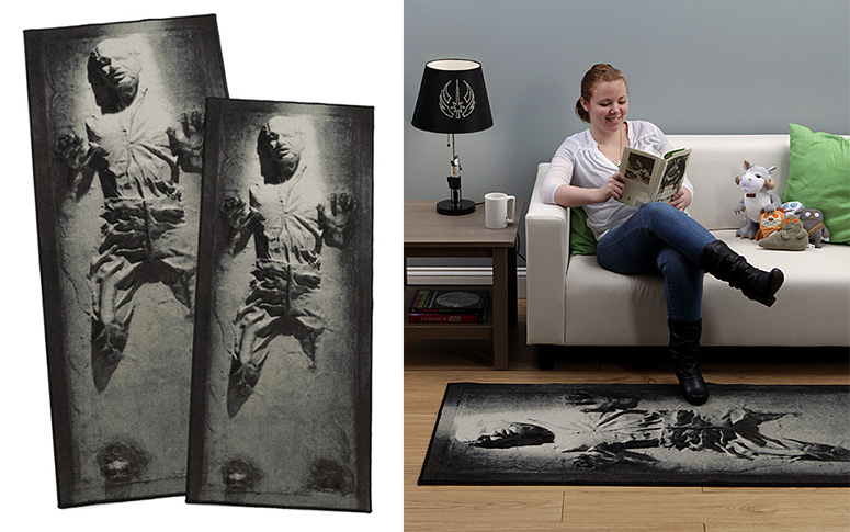 Han Solo Frozen In Carbonite Rug The Green Head