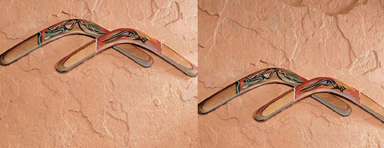 Handcrafted Aboriginal Boomerangs