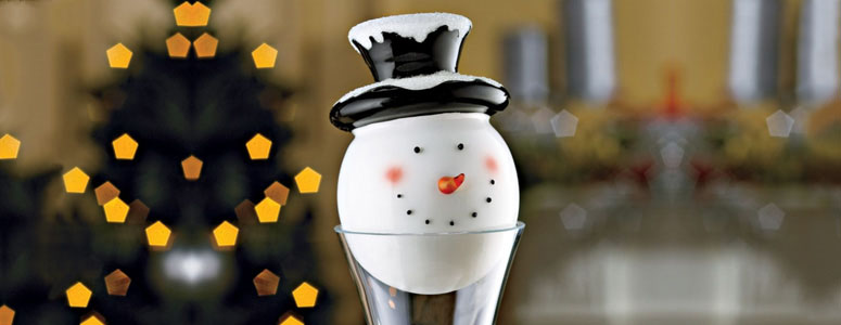 Handmade Snowman Decanter Stopper