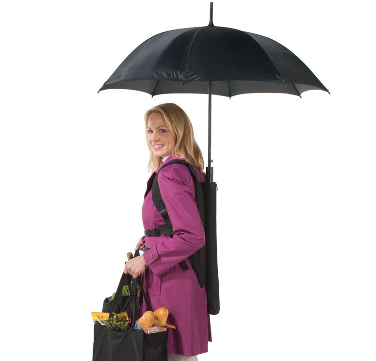 Hands Free Backpack Umbrella