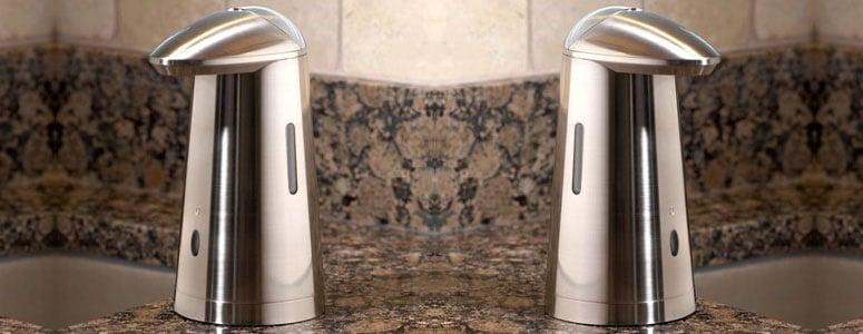Stainless Steel Hands Free Soap Dispenser